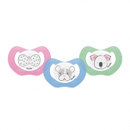 DODIE SUCETTE PHYSIOLOGIQUE EN SILICONE COLLECTION ANIMAUX 0-2 MOIS