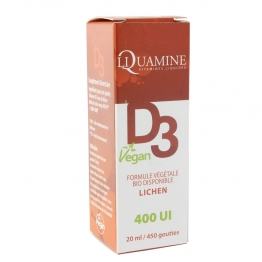 DR THEISS LIQUAMINE VITAMINE D3 VEGAN 400 UI 20ML