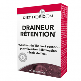 DRAINEUR RETENTION 60 COMPRIMES DIET HORIZON