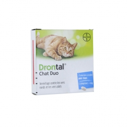 DRONTAL CHAT DUO 2 COMPRIMES