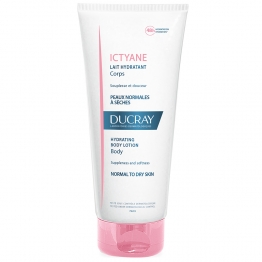 DUCRAY ICTYANE LAIT HYDRATANT CORPS PEAUX NORMALES A SECHES 250ML