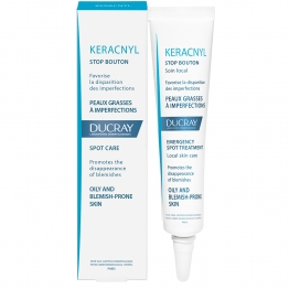 DUCRAY KERACNYL STOP BOUTONS PEAUX GRASSES A IMPERFECTIONS 10ML