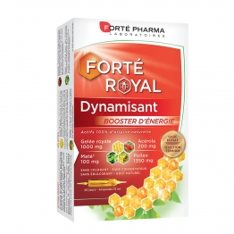 DYNAMISANT BOOSTER D'ENERGIE 20 AMPOULES FORTE ROYAL FORTE PHARMA