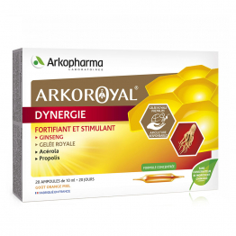 DYNERGIE 20 AMPOULES ARKOROYAL ARKOPHARMA