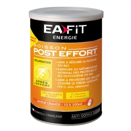 EAFIT BOISSON POST-EFFORT A L'ORANGE 10X500ML