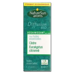 NATURESUN AROMS DIFFUSION BIO ASSAINISSANT ANTI-TABAC 30ML