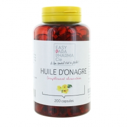 EASYPARPHARMACIE HUILE D'ONAGRE 200 CAPSULES