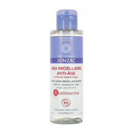 EAU MICELLAIRE ANTI-AGE A L'ACIDE HYALURONIQUE BIO 150ML SUBLIMACTIVE JONZAC