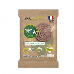 ECOLIGN ECOCOIL75 SPIRALES INSECTICIDES X5 UNITES