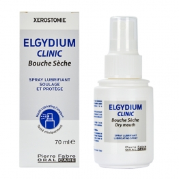 ELGYDIUM CLINIC SPRAY BOUCHE SECHE 70ML