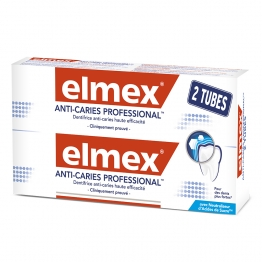 ELMEX ANTI-CARIES PROFESSIONNAL DENTIFRICE 2X75ML