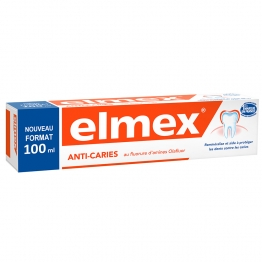 ELMEX DENTIFRICE ANTI-CARIES AU FLUOR 100ML