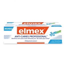 ELMEX DENTIFRICE ANTI-CARRIES PROFESSIONAL JUNIOR 75ML