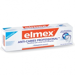 ELMEX DENTIFRICE ANTI CARIES PROFESSIONAL 75ML