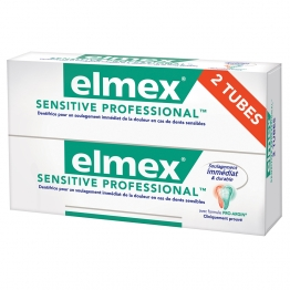 ELMEX DENTIFRICE SENSITIVE PROFESSIONAL 2X75 ML