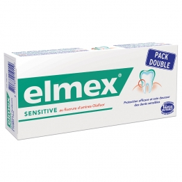 ELMEX SENSITIVE DENTIFRICE 2X75ML