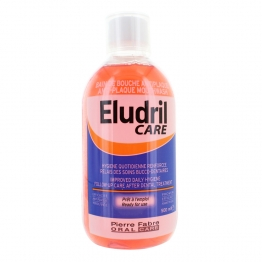 ELUDRIL CARE BAIN DE BOUCHE ANTIPLAQUE 500ML