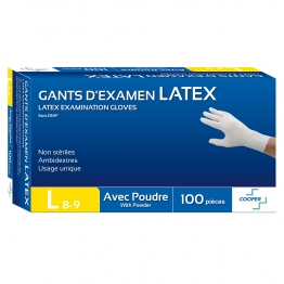 EMILABO GANTS LATEX X100 L 8-9