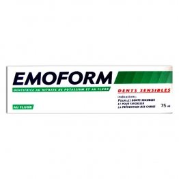 EMOFORM DENTS SENSIBLES DENTIFRICE AU FLUOR 75ML