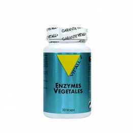 VIT'ALL+ ENZYMES VEGETALES 30 GELULES VEGETALES