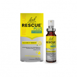 EQUILIBRE ET SERENITE SPRAY 20ML RESCUE PLUS VITAMINES SAVEUR CITRON BACH