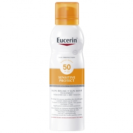 EUCERIN SUN SENSITIVE PROTECT BRUME TRANSPARENTE SPF50 PEAUX SENSIBLES 200ML