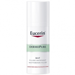EUCERIN DERMOPURE MAT FLUIDE MATIFIANT PEAUX A IMPERFECTIONS 50ML