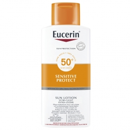 EUCERIN SUN SENSITIVE PROTECT LOTION EXTRA LEGERE SPF50+ 400ML