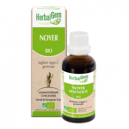 EXTRAITS DE BOURGEON DE NOYER BIO 30ML HERBALGEM