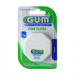 Fil Dentaire Cire 55m Fine Floss Gum