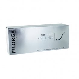 FILORGA ART FILLER FINE LINES ACIDE HYALURONIQUE AVEC LIDOCAINE 2 SERINGUES PRE REMPLIES DE 1ML