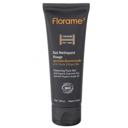 FLORAME HOMME FOR MEN GEL NETTOYANT VISAGE BIO 75ML