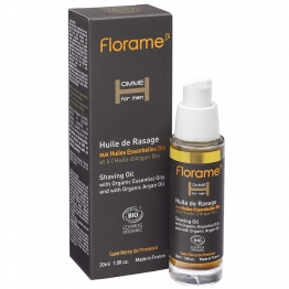 FLORAME HOMME FOR MEN HUILE DE RASAGE BIO 30ML