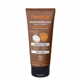 FLORAME SHAMPOOING CREME CHEVEUX SECS 200ML