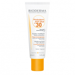 Fluide Matifiant Spf30 Akn Mat Peaux Mixtes A Grasses 40ml Photoderm Bioderma