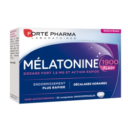 FORTE PHARMA MELATONINE 1900 FLASH 30 COMPRIMES