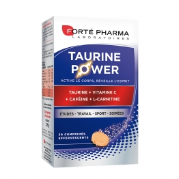 FORTE PHARMA TAURINE POWER 30 COMPRIMES EFFERVESCENTS