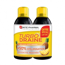 FORTE PHARMA TURBODRAINE ANANAS 2X500ML