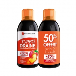 FORTE PHARMA TURBODRAINE THE PECHE 2X500ML