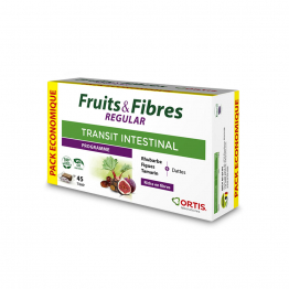 Fruits & Fibres Regular Transit Intestinal 45 Cubes A Macher Ortis