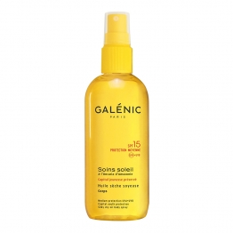 GALENIC SOIN SOLEIL HUILE SECHE SOYEUSE SPF15 CORPS 150ML