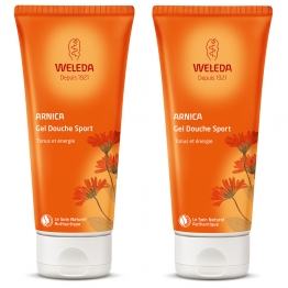 GEL DOUCHE SPORT 2X200ML ARNICA WELEDA