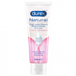 GEL LUBRIFIANT INTIME NATUREL EXTRA SENSITIVE ALOE VERA 100ML DUREX