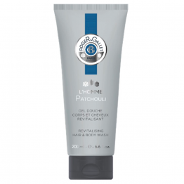 GEL DOUCHE REVITALISANT 200ML L'HOMME PATCHOULI ROGER & GALLET