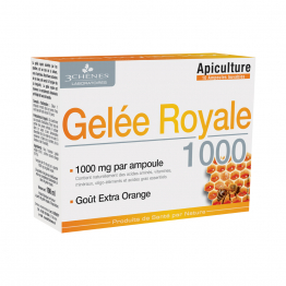 Gelee Royale 1000 10 Ampoules 3 Chenes