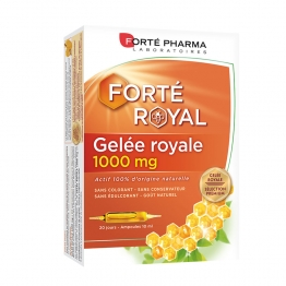 GELEE ROYALE 1000MG 20 AMPOULES FORTE ROYAL FORTE PHARMA