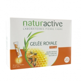 GELEE ROYALE 20 STICKS GAMME FLUIDE NATURACTIVE