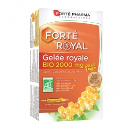 GELEE ROYALE BIO 2000MG 20 AMPOULES FORTE ROYAL FORTE PHARMA