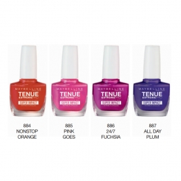 GEMEY MAYBELLINE TENUE & STRONG PRO VERNIS A ONGLES COLLECTION SUPER IMPACT