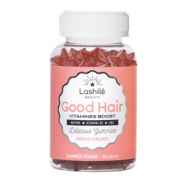 Good Hair Vitamines Boost 60 Pieces Delicious Gummies Lashile Beauty